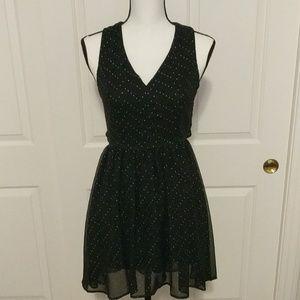 Studded Open Back Dress